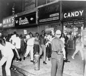 Race riots around the country in 1964 got the nation's attention.