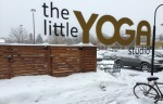 The Little Yoga Studio is, in fact little, buck has a great welcoming environment for beginners to expert yoga practitioners.