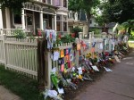 The Mork and Mindy house in Boulder was turned into a shrine for the late Robin Williams.