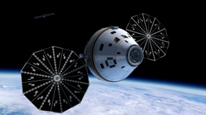The NASA Orion which is eventually taking people to Mars had a successful suborbital test.