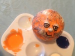 I was at Manor Care in Denver and was in a craft class where we painted Bronco balls.