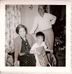 I must be around two years old. My maternal grand parents visited on Christmas. My grandfather lived to be 103.