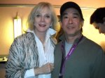 BCM producer and Blythe Danner at a recent BIFF