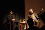 BIFF host Ron Bostwick talks with James Franco.