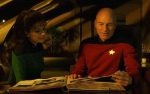 After the Star Ship Enterprise blew up, Picard was able to retrieve his family album as he took over the Star Fleet command.