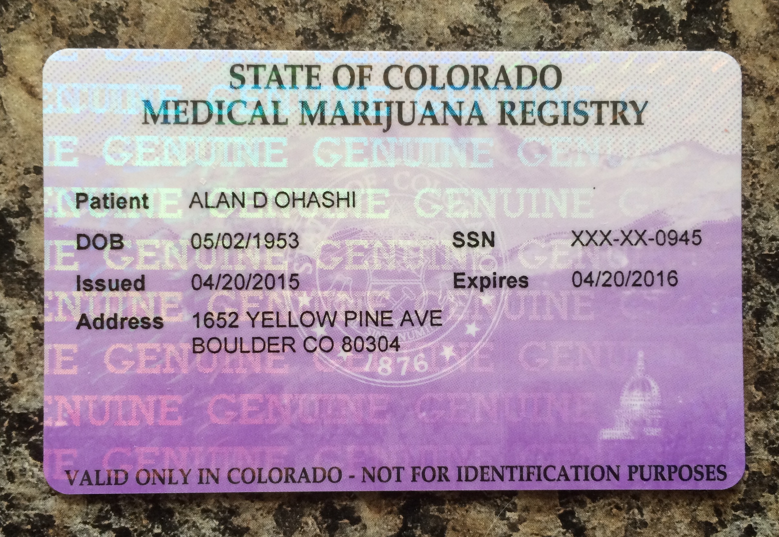 How normal is marijuana? The story of a card carrying pothead ...