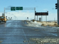I-80 was officially closed when I was driving back from Riverton recently. White knuckle driving is an art form in Wyoming.