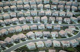 coho suburb aerial