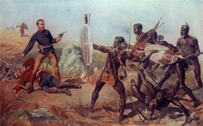 zulu british fight