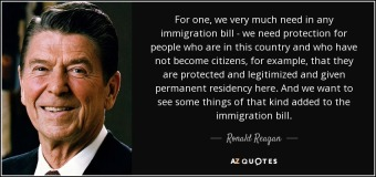 reagan quote immigration