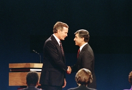 BUSH DUKAKIS DEBATE 1988