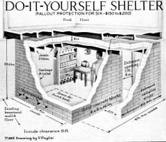 bomb shelter blue prints