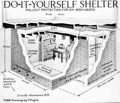bomb shelter blue prints